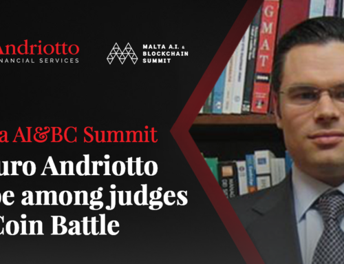 AFS Founder, Mauro Andriotto to be among the judges on this year's Malta AI&BC Summit