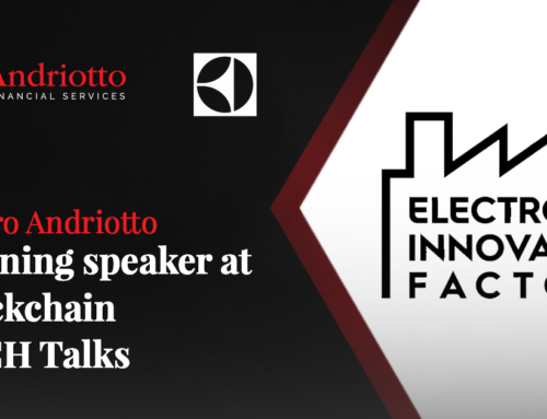 Mauro Andriotto to be the opening speaker at BLOCKCHAIN TECH Talks