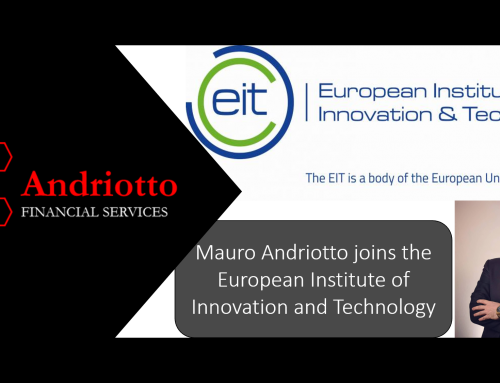 Mauro Andriotto joins the European Institute of Innovation and Technology