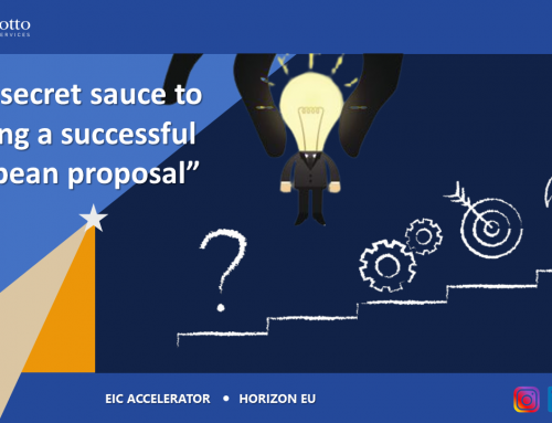 The secret sauce to writing a successful European proposal: 6 tips to achieve the European Innovation Council excellence